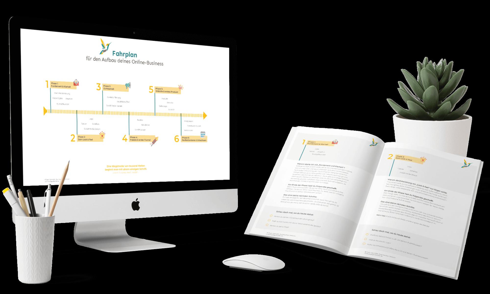 Online-Business-Fahrplan