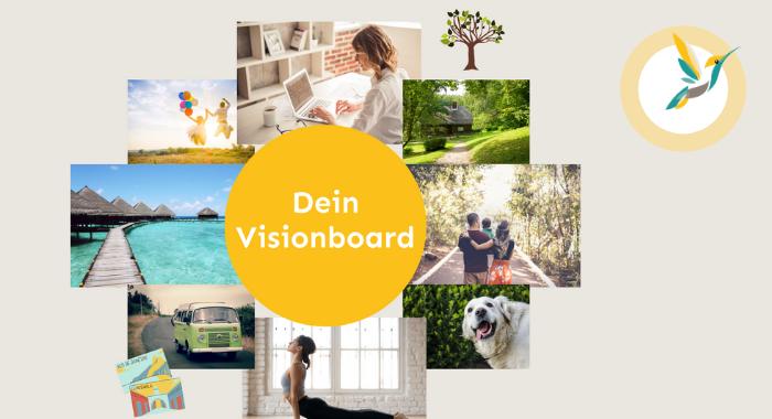 Dreamboard Visionboard erstellen