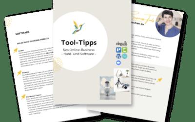 Business Tools für den Start – die ultimative Liste!